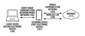Device and method for accessing multiple networks in wireless communication system