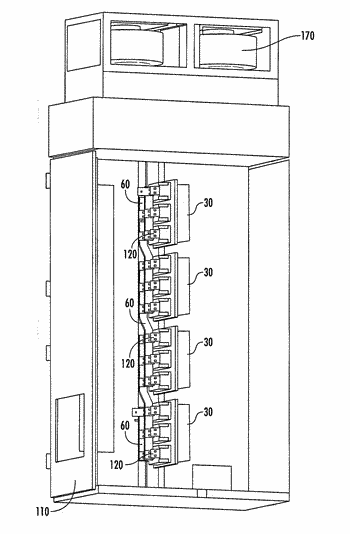 Thermosyphon cooling apparatus with isolation of cooled components