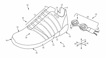 Standoff unit for a control device in an article of footwear