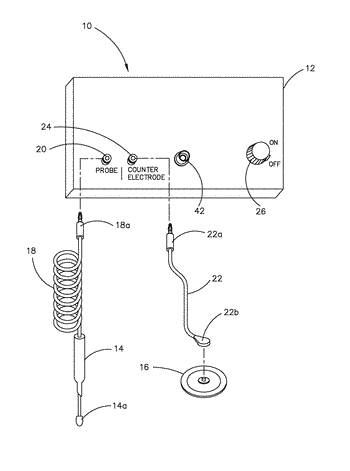 Microcurrent device for the treatment of visual disease