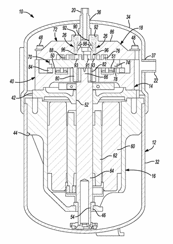 Compressor valve system and assembly