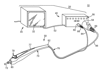 Stimulator handpiece for an evoked potential monitoring system