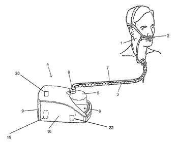 Breathing assistance apparatus with a manifold to add auxiliary gases to ambient gases