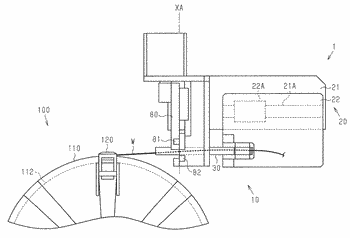 Bead core forming device