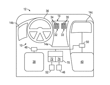 Dynamic adjustment of touch sensitive area in a display assembly