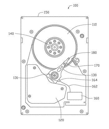 Hermetic sealing with high-speed transmission for hard disk drive