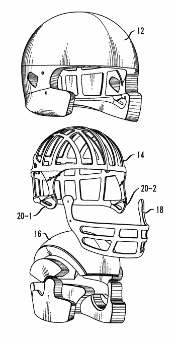 Protective headgear with non-rigid outer shell