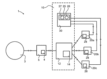 Device, system and method for setting an operation of a robot unit, and use of ...
