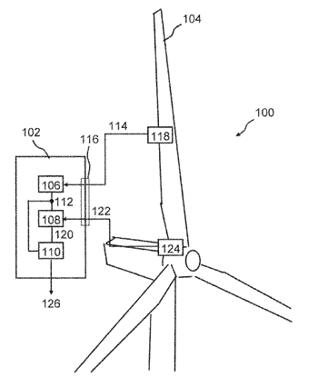 Method and control device for measuring a load on a rotor blade of a wind ...