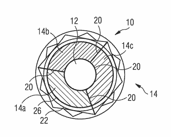 Thermally fragmentable fastening device