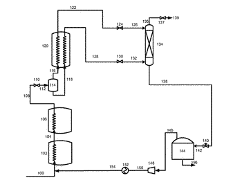 Integrated nitrogen removal in the production of liquefied natural gas using intermediate feed gas separation