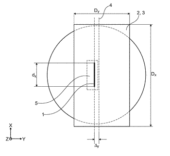 Sensor for detecting a period magnetic field