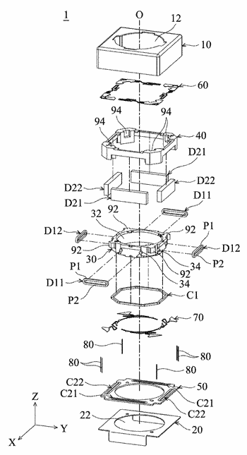 Lens driving device