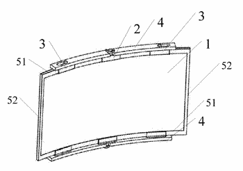 Curved backlight unit, manufacturing method thereof and display device