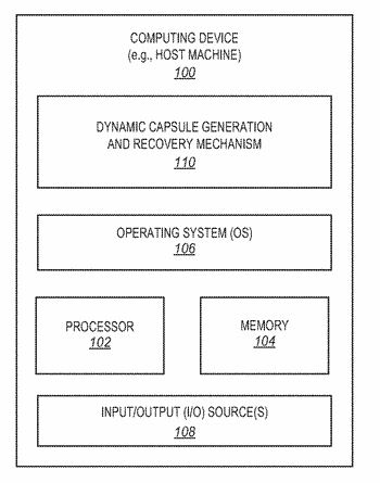 Dynamic capsule generation and recovery in computing environments