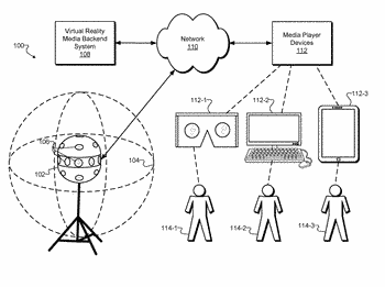 Methods and systems for inserting promotional content into an immersive virtual reality world
