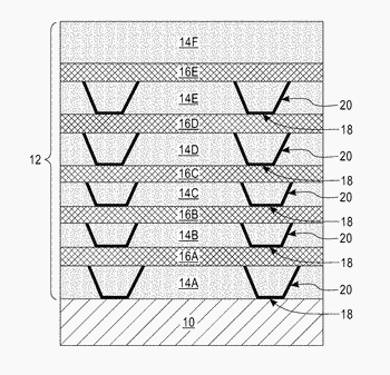 Graded buffer layers with lattice matched epitaxial oxide interlayers