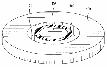 Electronic wearable device electrode pad with collection well
