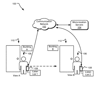 Dynamically managing a listen list of beacon aware devices