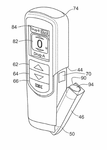 Dispense interface with lockout element