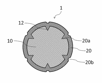 Water absorption treatment material and method for manufacturing the same