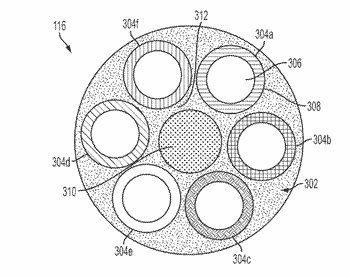 Self-retractable coiled electrical cable