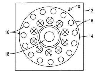 Combustor and method for damping vibrational modes under high-frequency combustion dynamics