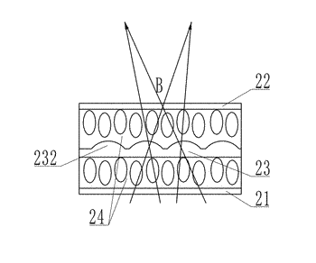 Three-dimensional display module and display device comprising first and second cylinder lens assemblies each having ...