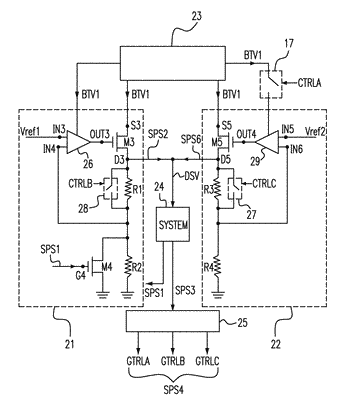 Level shifting module and power circuit and method of operating level shifting module