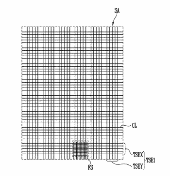 Touch screen and display device having the same