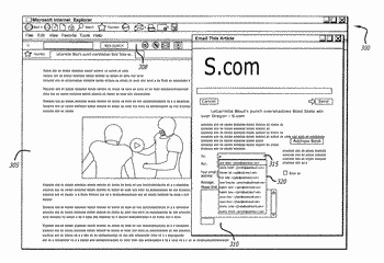 Method and system for completing an edit area of a web page