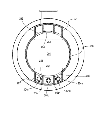 Substrate processing device, manufacturing method for semiconductor device, and reaction tube