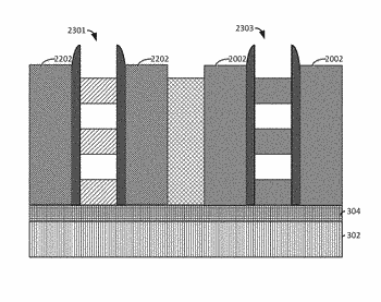 Stacked nanowire devices