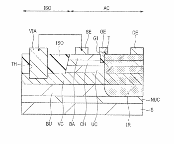 Semiconductor device and a method for manufacturing a semiconductor device