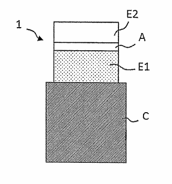 Resistive random access memory, associated manufacturing and programming methods