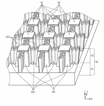 Organic el display panel, organic el display device, and method of manufacturing organic el display ...
