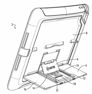 Tablet computer case