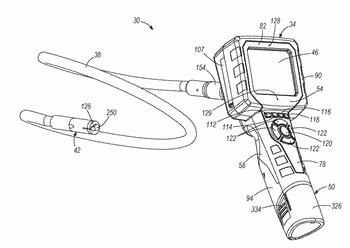 Visual inspection device