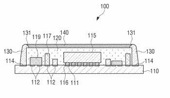 Emi shielding structure and manufacturing method therefor
