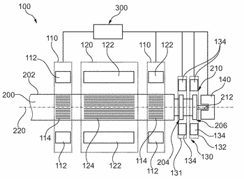 Spinning rotor shaft, bearing arrangement for the active magnetic support of such a spinning rotor ...