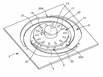 Device for regulating the motion of a mechanical horological movement