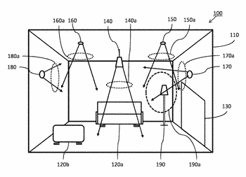 Lighting system and method for generating lighting scenes