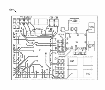 Surface mount device stacking for reduced form factor