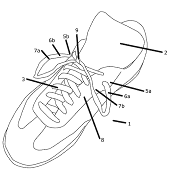 Shoelace securing device and method of use