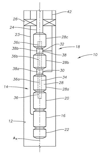 Methods and apparatus for providing esp stage sequential engagement