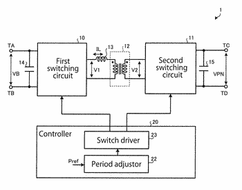 Dc-to-dc converter, power converter, power generation system, and method for dc-to-dc conversion
