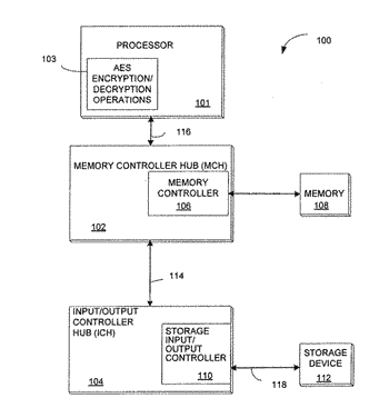 Architecture and instruction set for implementing advanced encryption standard (aes)