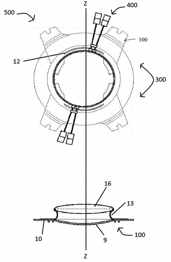 Variable strength intraocular lens and method of using same