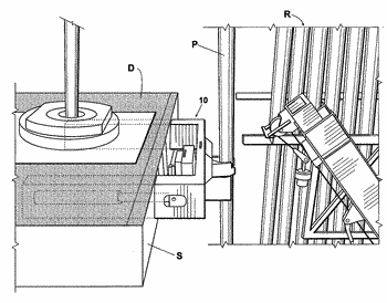 Vertical pipe handling system and method for its use