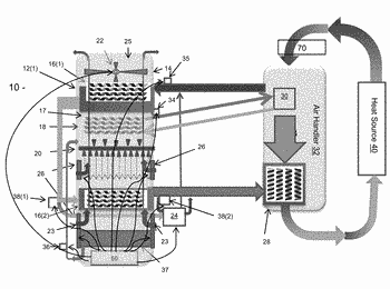 Evaporative fluid cooling apparatuses and methods thereof